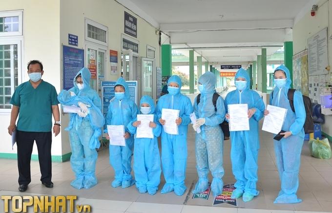 Bệnh nhân covid 19 xuất viện
