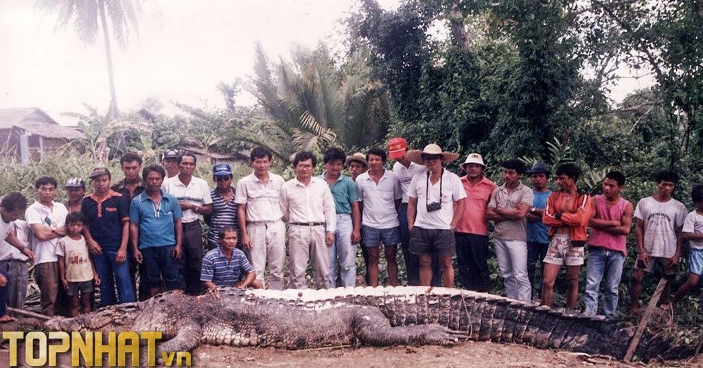 Bujang-senang - Con cá sấu khổng lồ ăn thịt người