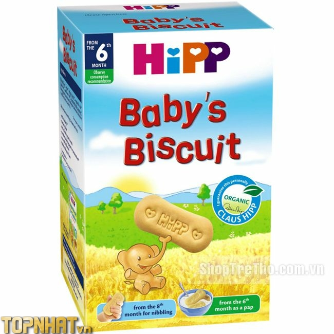 Bánh ăn dặm cho bé Hipp