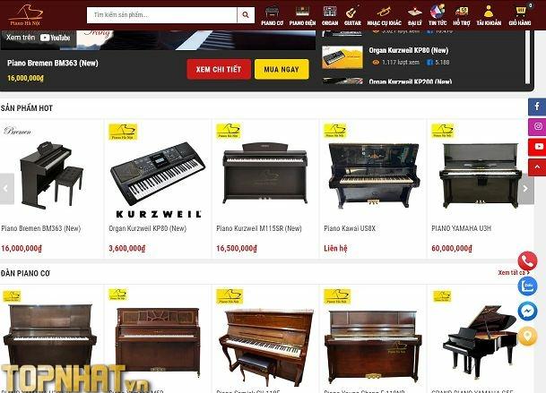 Chọn mua đàn tại Piano Hà Nội