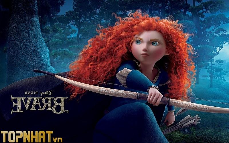 Công chúa tóc xù (Brave) (2012)
