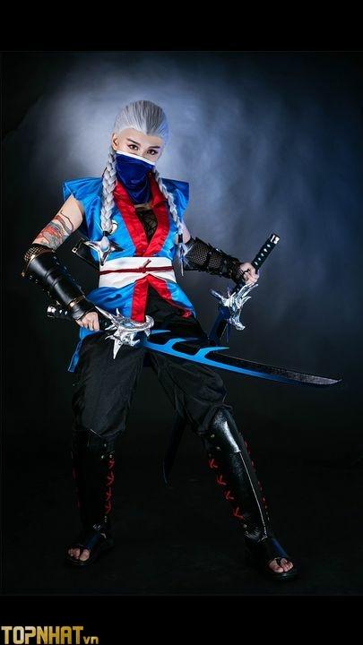 Cosplay Airi Ninja Long Tộc Liên Quân