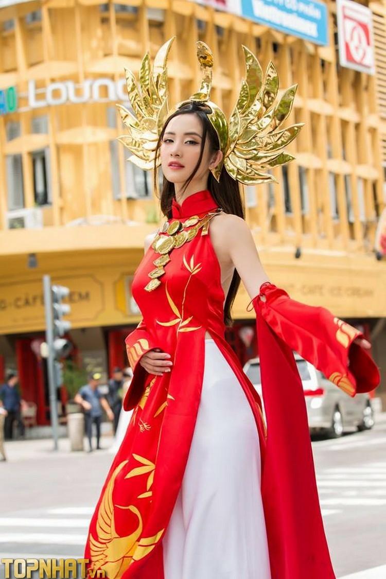 Cosplay Ilumia Thiên nữ áo dài của Jun Vũ