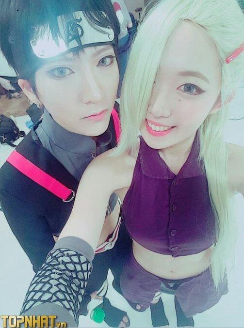 Cosplay Ino và Sai - Ảnh 5