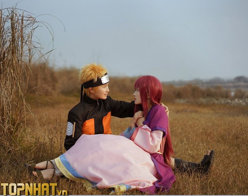 Cosplay Karim và Naruto