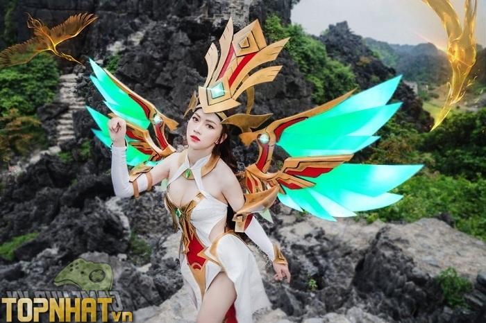 Cosplay Lauriel Lạc Thần LQMB