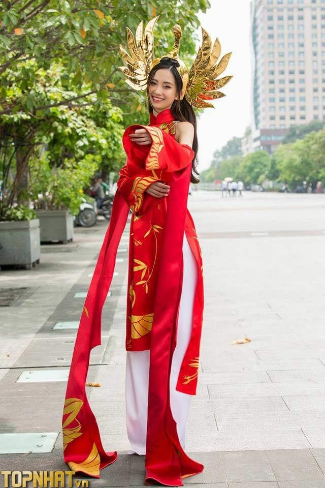 Cosplay Liên Quân Ilumia Thiên nữ áo dài của Jun Vũ