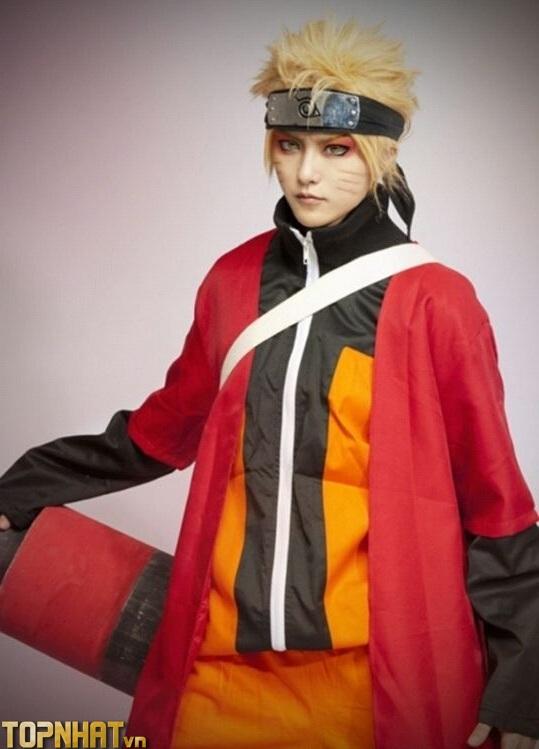 Cosplay Naruto Hiền Nhân - Ảnh 1