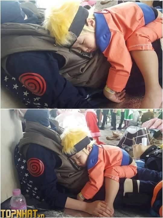Cosplay Naruto cực đáng yêu
