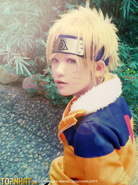 Cosplay Naruto khi nhỏ