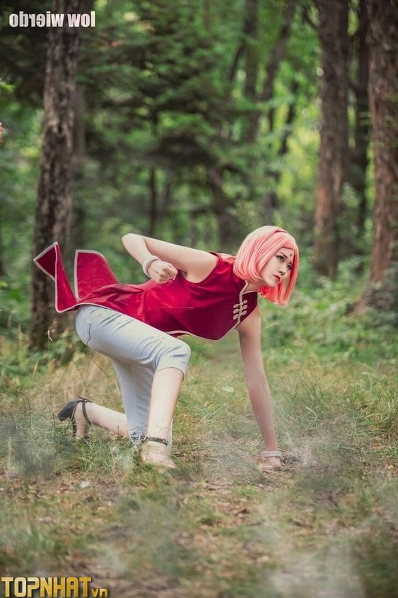 Cosplay Sakura đẹp - Ảnh 18