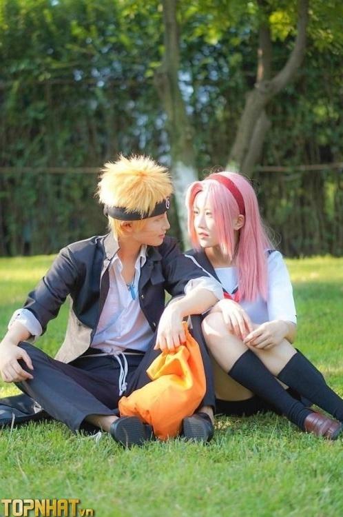 Cosplay Sakura và Naruto - Ảnh 1