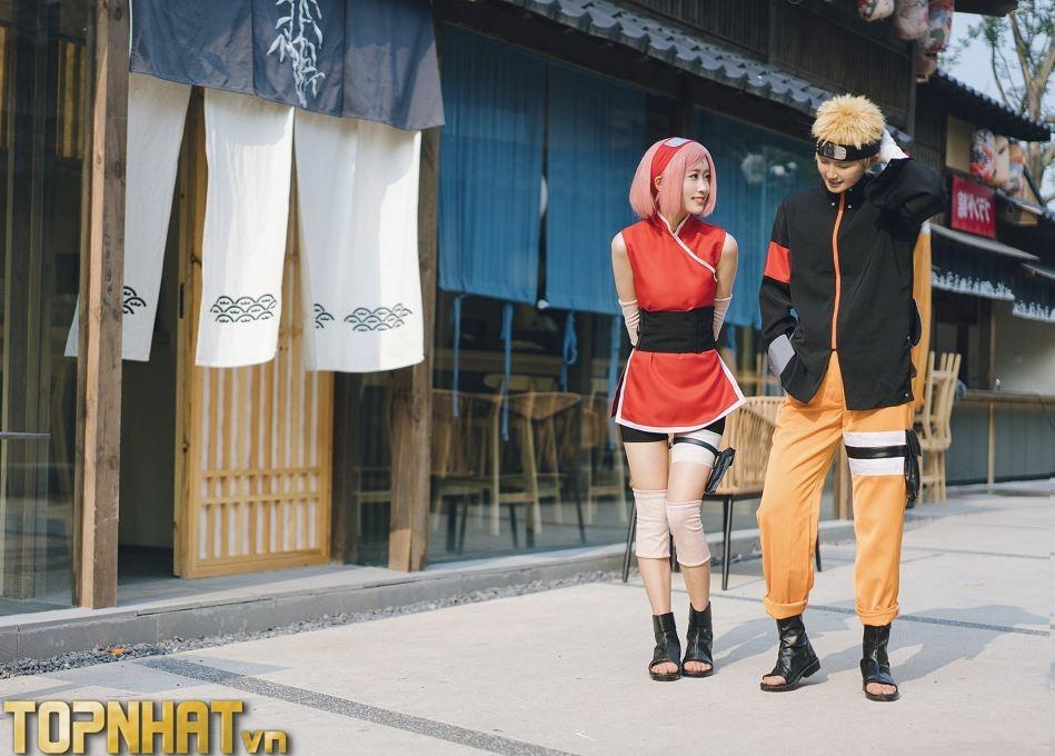Cosplay Sakura và Naruto mới - Ảnh 2
