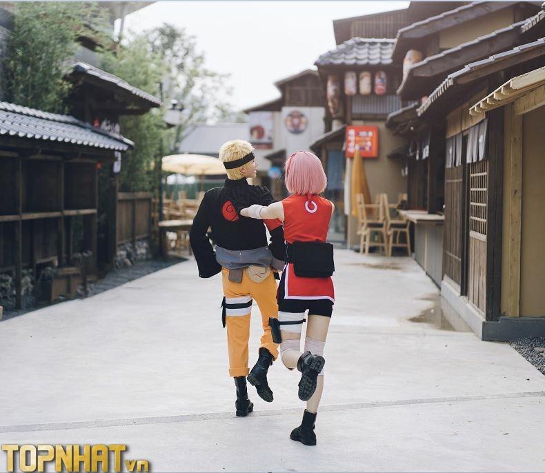 Cosplay Sakura và Naruto mới - Ảnh 3