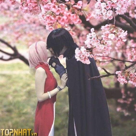 Cosplay Sakura và Sasuke Ảnh 2