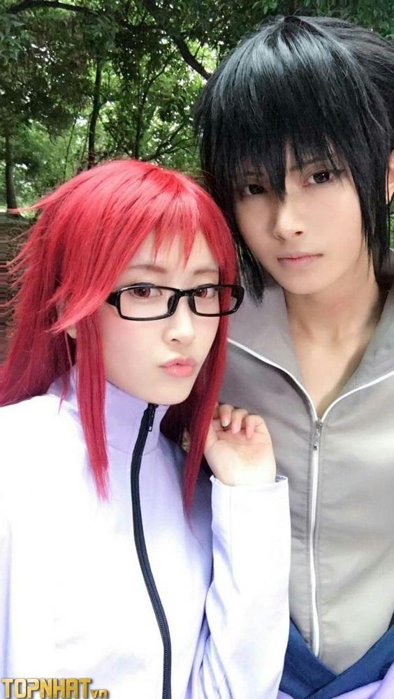 Cosplay Sasuke và Karin - Ảnh 4