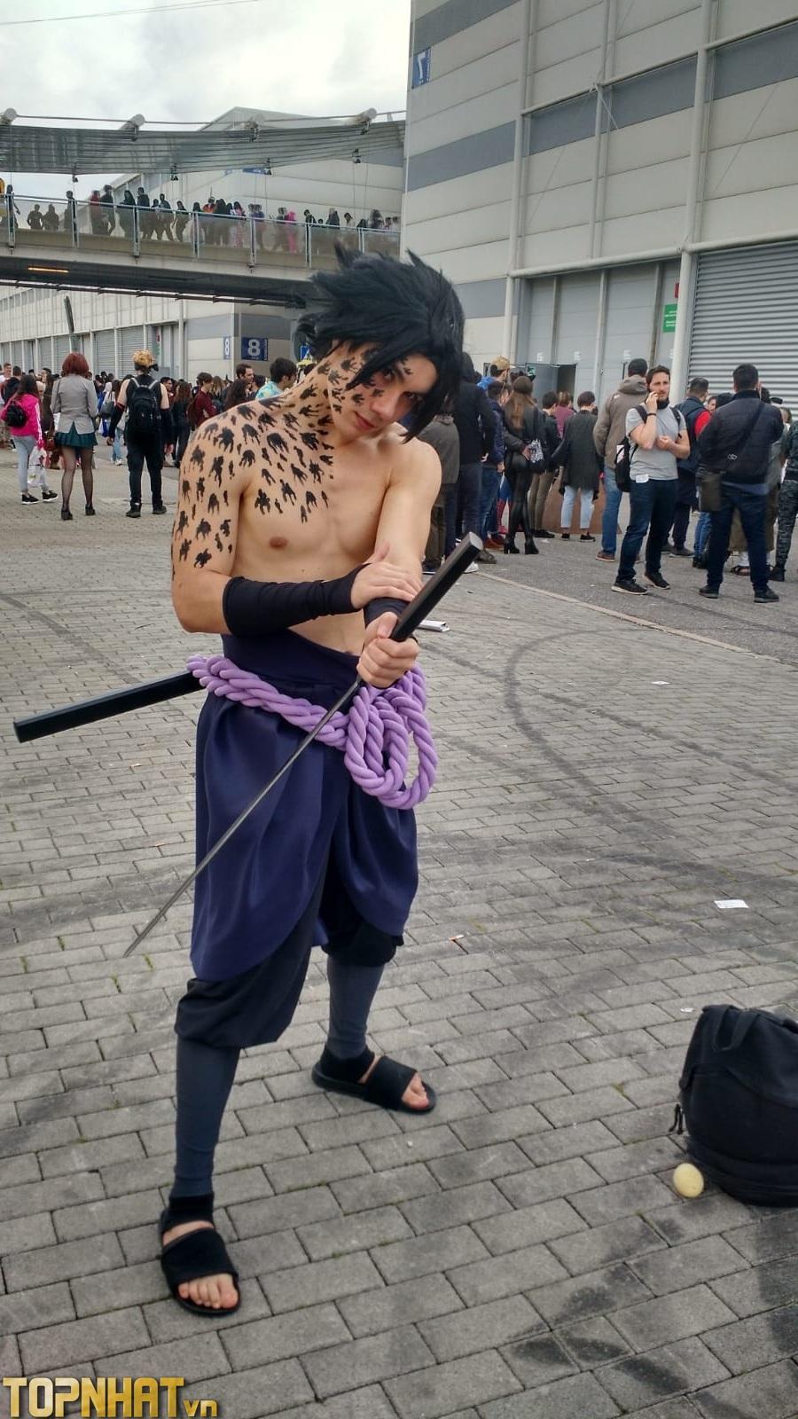 Cosplay Uchiha Sasuke Shippuden - Ảnh 12