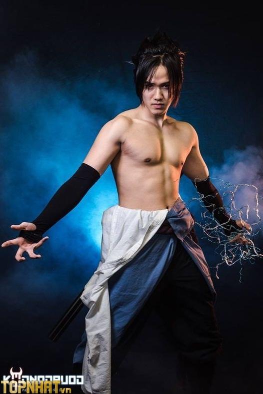 Cosplay Uchiha Sasuke Shippuden - Ảnh 3