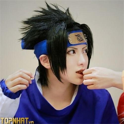 Cosplay Uchiha Sasuke lúc nhỏ - Ảnh 3