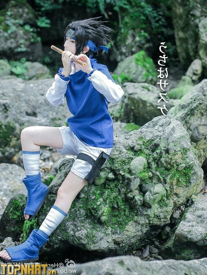 Cosplay Uchiha Sasuke lúc nhỏ - Ảnh 6