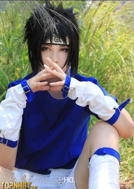Cosplay Uchiha Sasuke lúc nhỏ