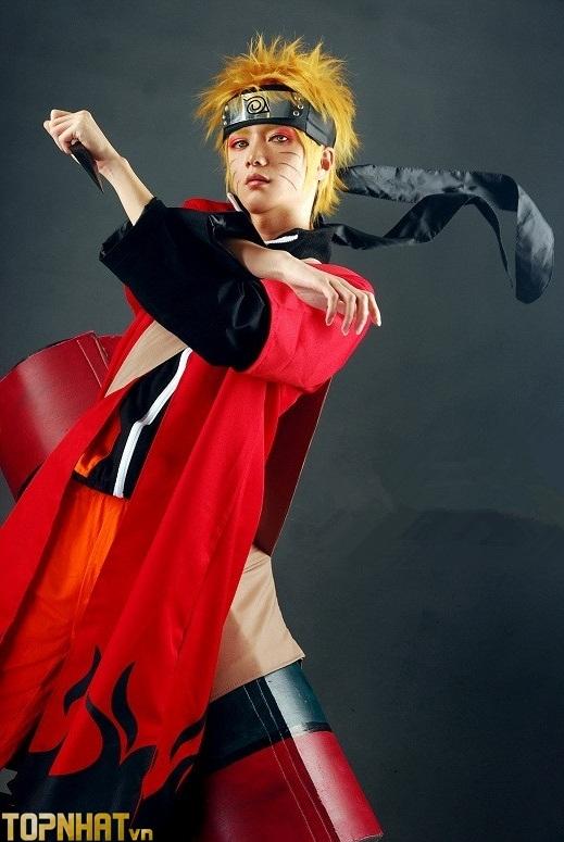 Cosplay Uzumaki Naruto Shippuden Ảnh 1
