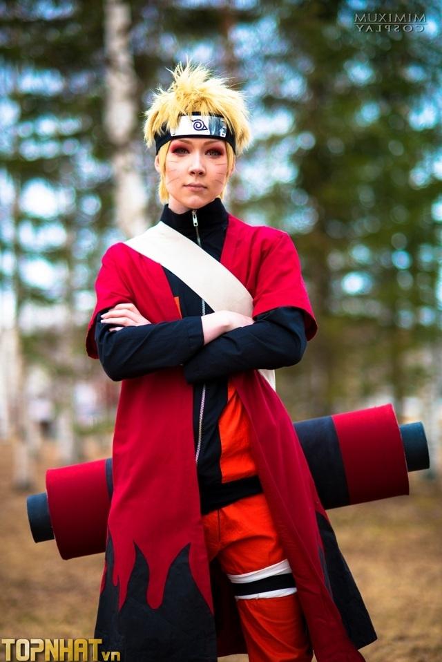 Cosplay Uzumaki Naruto Shippuden Ảnh 3