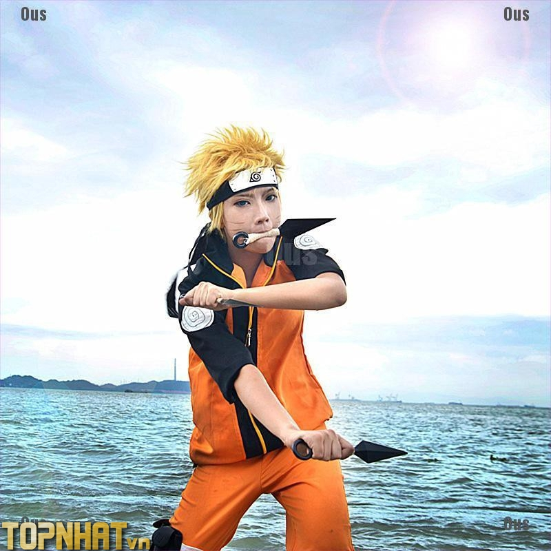 Cosplay Uzumaki Naruto khi nhỏ