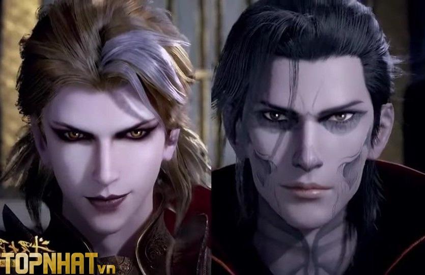 Cúc Đấu La & Quỷ Đấu La