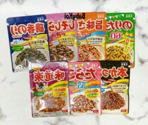 Gia vị rắc cơm Marumiya đủ vị