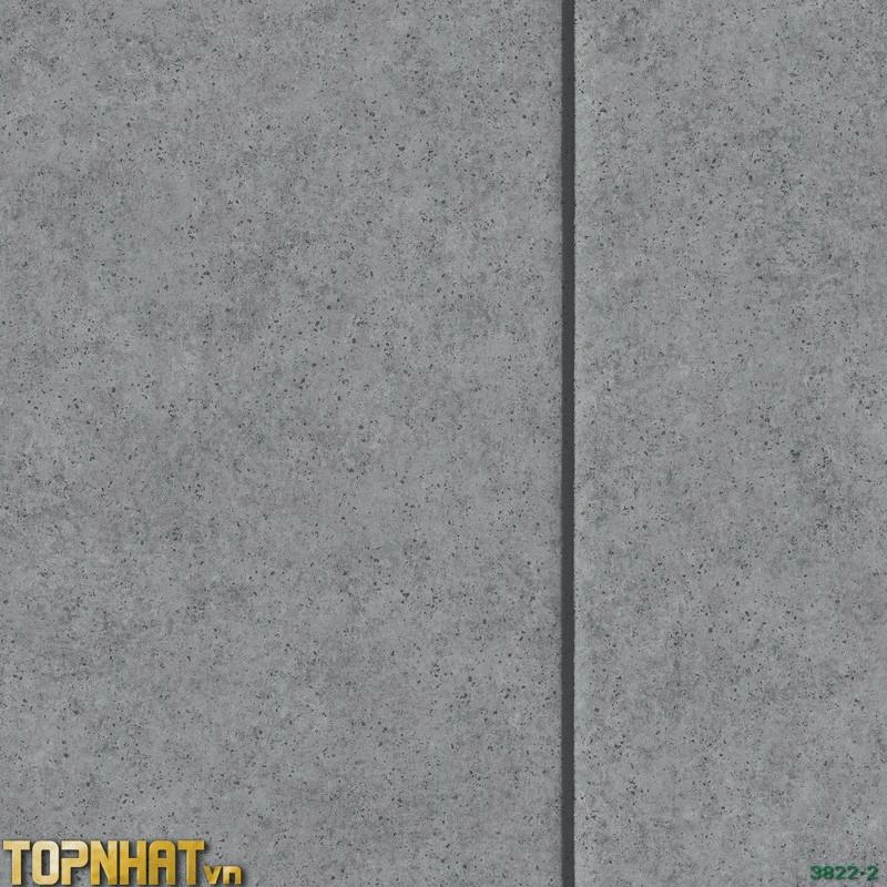 Giấy dán tường giả xi măng sọc dọc màu 2