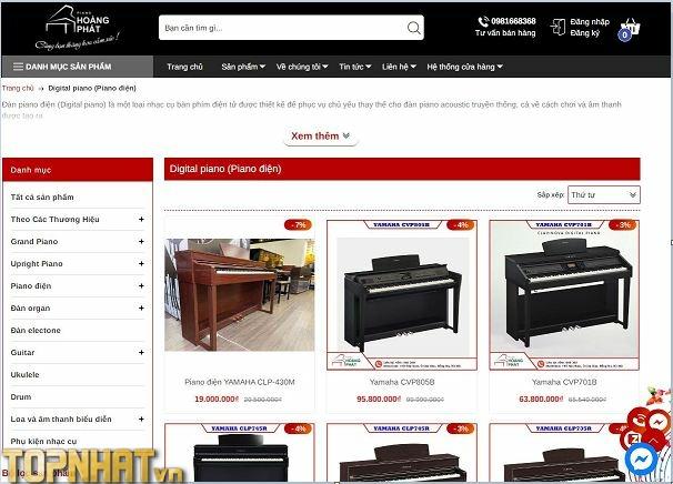 Hoàng Phát là địa chỉ uy tín để chọn mua Piano