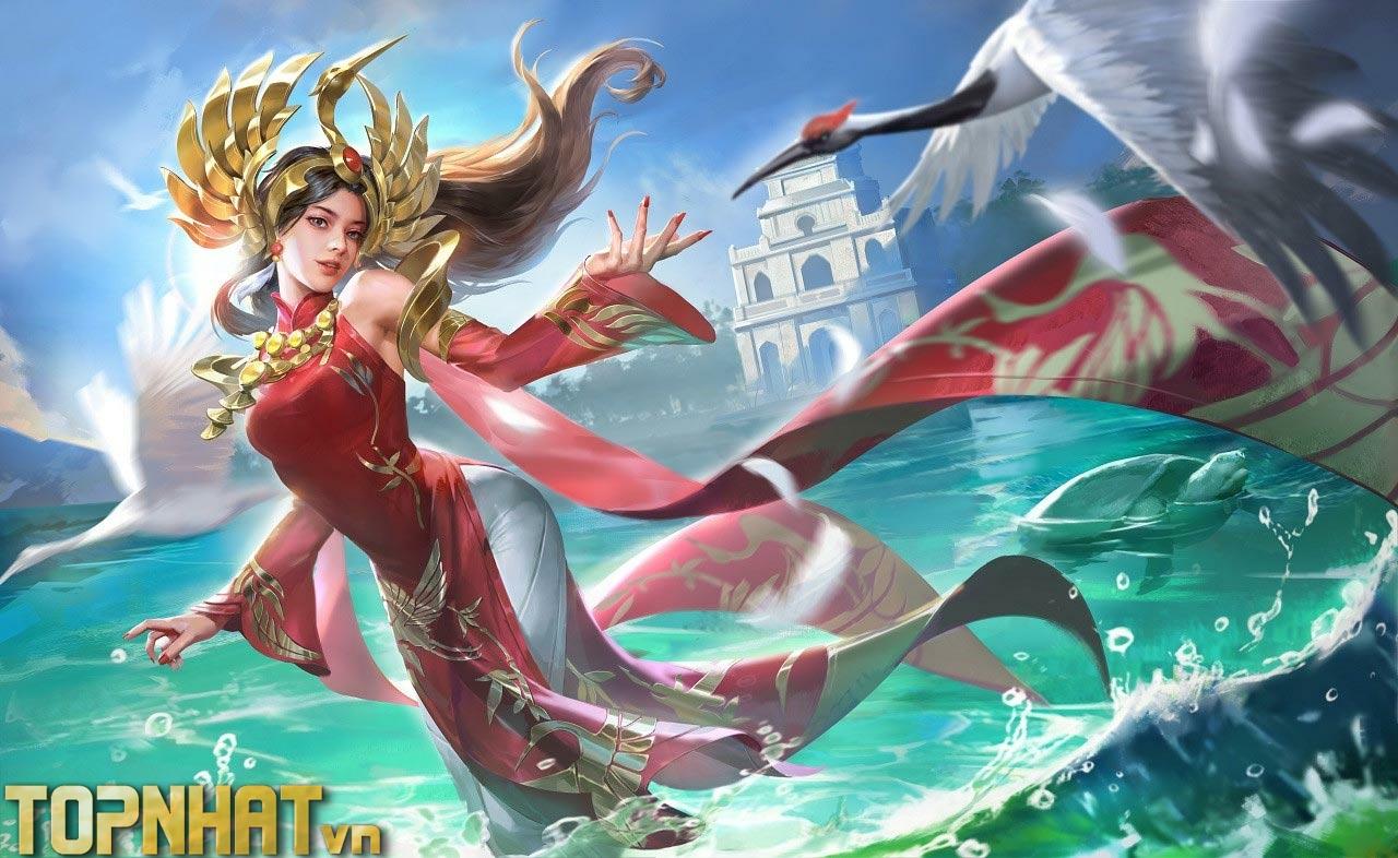Ilumia Thiên Nữ Áo Dài Việt Nam