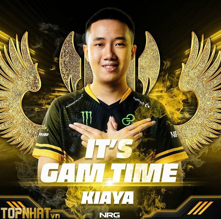 Kiaya đang thi đấu cho GAM Esports