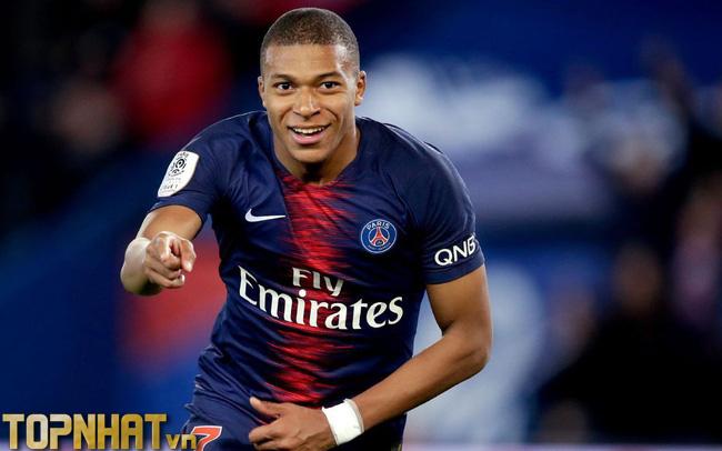 Kylian Mbappé cầu thủ tiền đạo đắt giá nhất