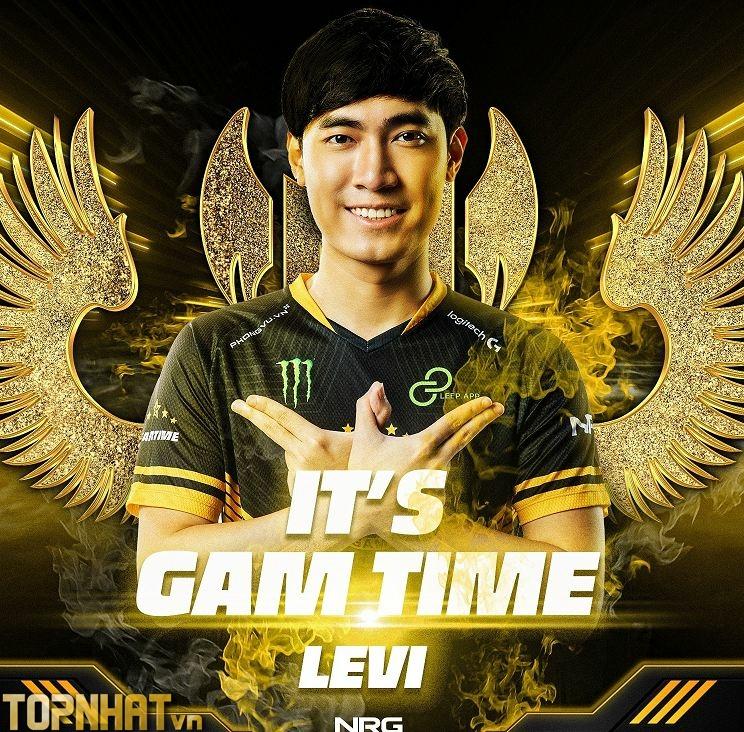 Levi trong màu áo của GAM năm 2021