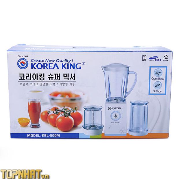 Máy xay sinh tố Korea King KBL-500M