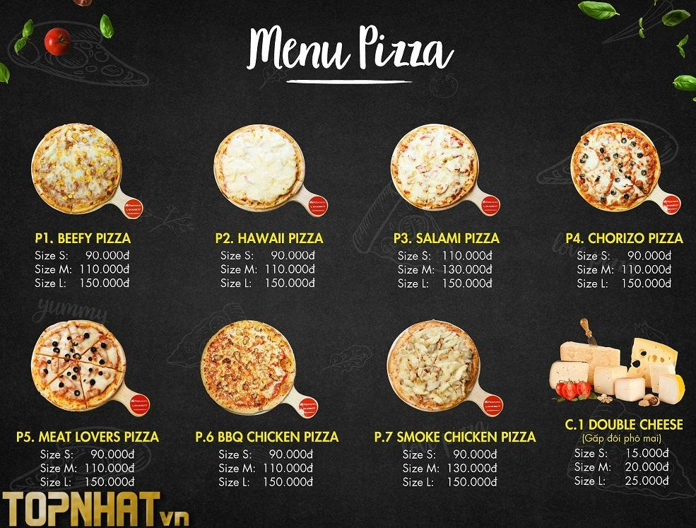 Menu Pizza Ngon của Express Pizza