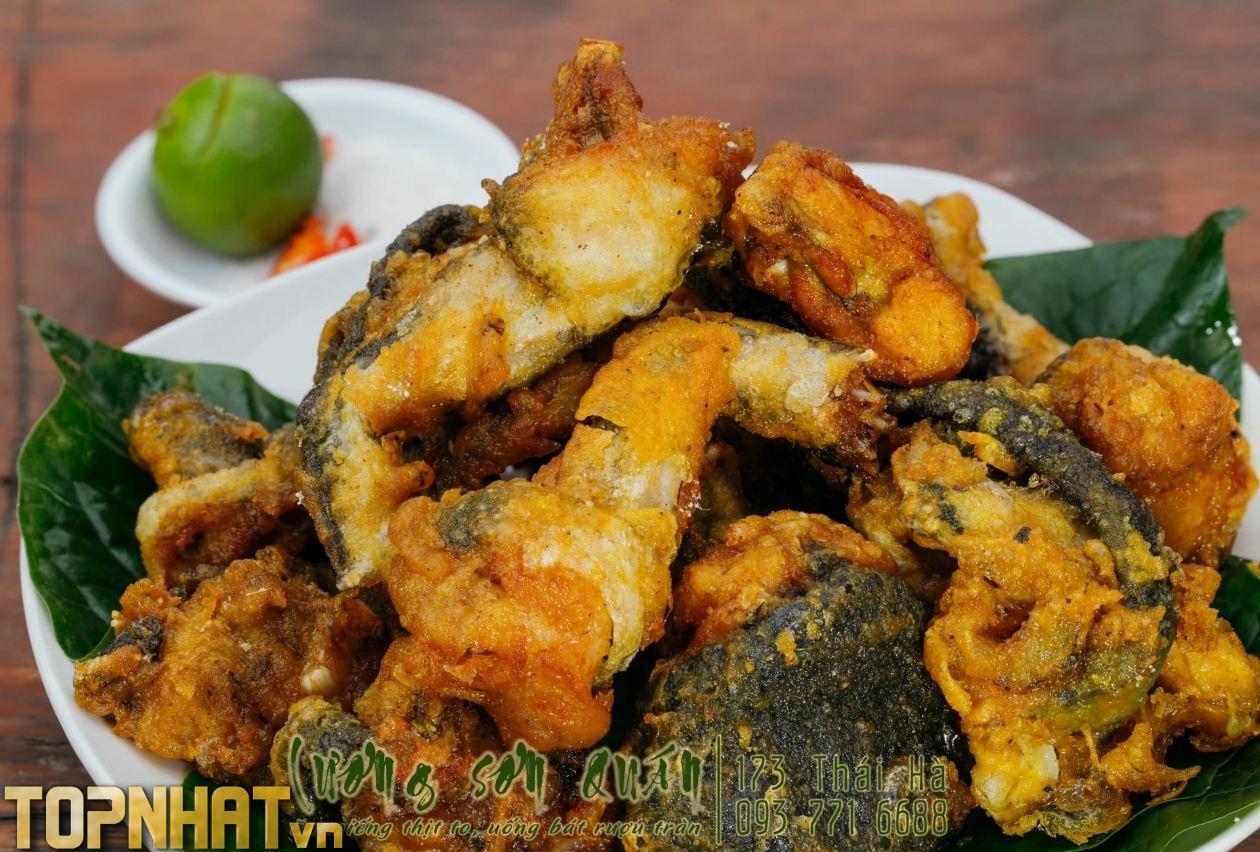 Món ếch tại Lương Sơn Quán