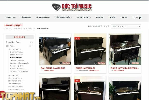 Mua Piano chất lương uy tín tại Đức Trí Music