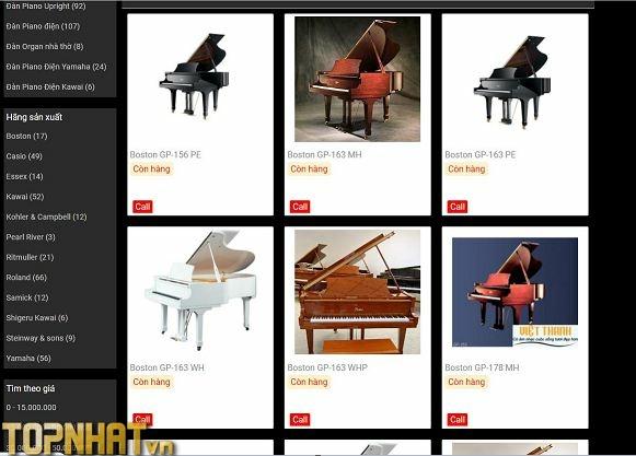 Mua Piano tại HiLi Music