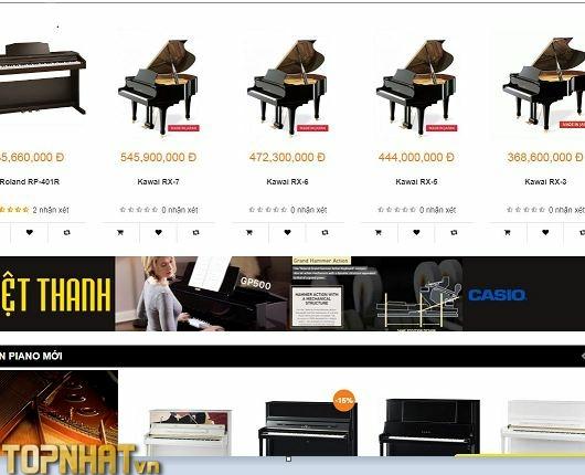 Mua Piano tại Việt Thanh Music