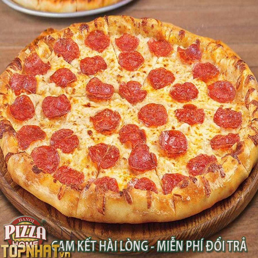 Pizza Home Cam kết hài lòng - miễn phí đổi trả