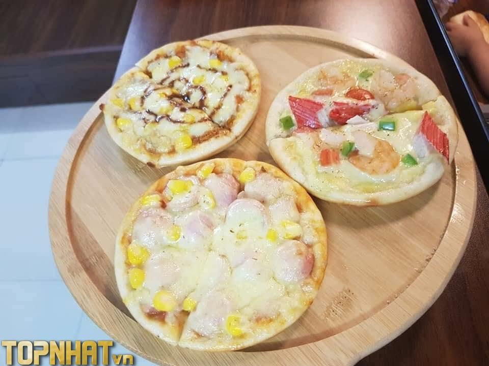 Pizza ngon của Bầu