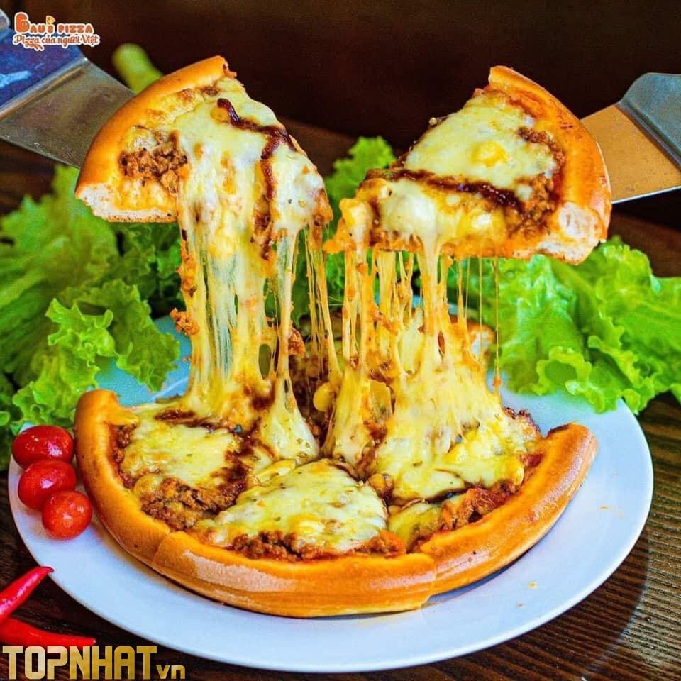Pizza nhà Bầu