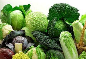 Rau xanh cung cấp nguồn canxi dồi dào cho cơ thể