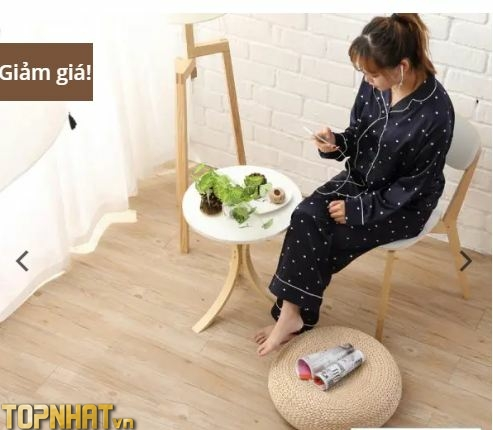 Sản phẩm sàn nhựa giả gỗ của Sàn Nhựa Xinh