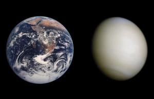 Sao Kim có kích thước gần tương tự như trái đất
