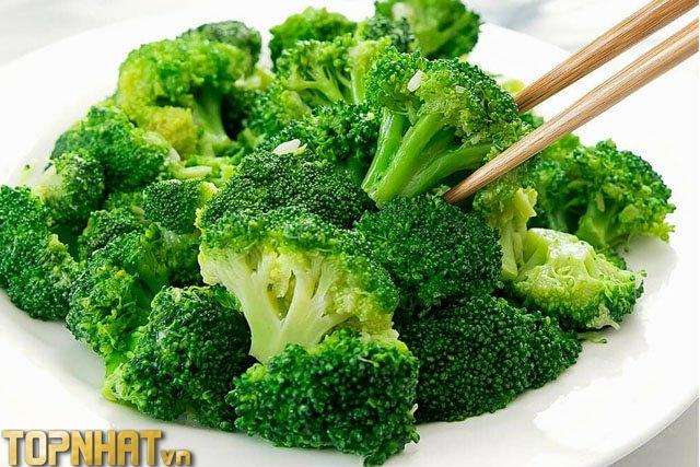 Súp lơ xanh - Loại rau chứa nhiều canxi