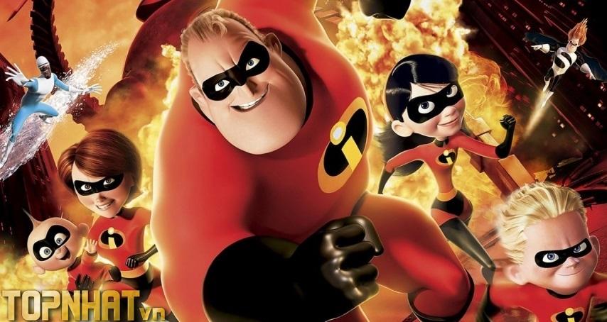 The Incredibles – Gia đình siêu nhân (2004)